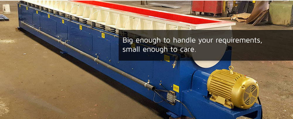Big enough to handle your requirements, small enough to care.