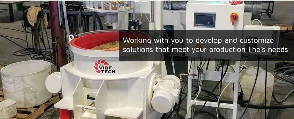 Working with you to customize solutions that meet your production line's needs
