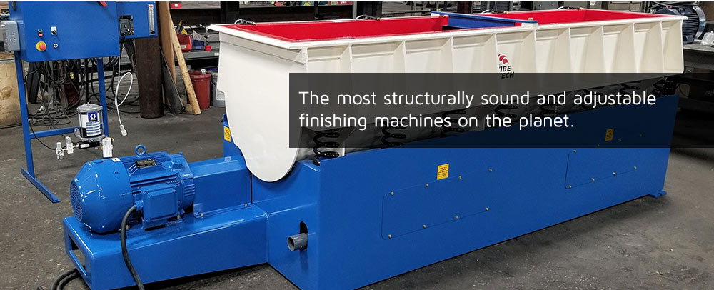 The most structurally sound and adjustable finishing machines on the planet.